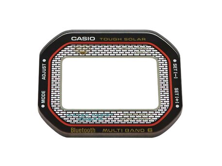 Genuine Casio Printed GLASS for GMW-B5000TFC