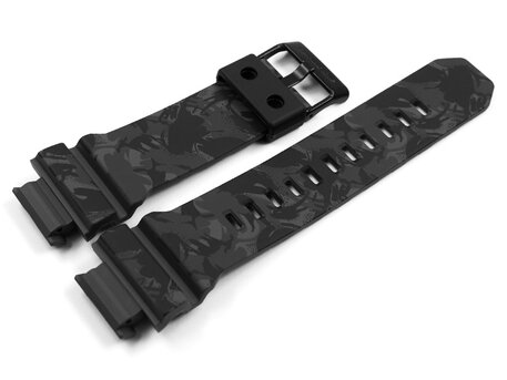 Genuine Casio Grey Camouflage Resin Watch Strap for GD-X6900MC-1