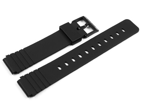 Casio Replacement Black Resin Watch Strap for MW-57 AQ-22 AQ-23 AQ-38