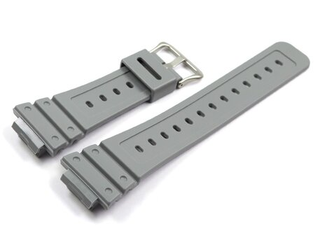 Grey Resin Watch Strap Casio DW-D5600P-8 DW-D5600P