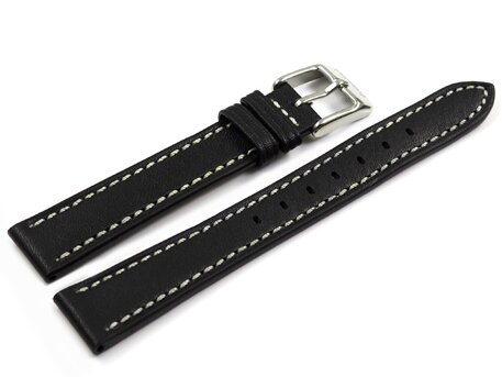 Genuine Festina Replacement Black Leather Watch Strap F20456/4