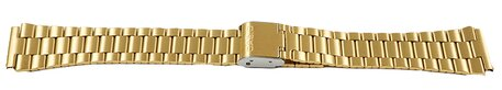 Casio Gold Tone Stainless Steel Watch Strap A168WEGC-3 A168WEGC-5 A168WEGM-9