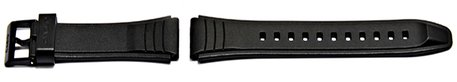 Replacement Watch strap Casio for model AW-49H, rubber (black)