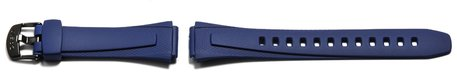 Watch strap Casio for W-752-2AV, rubber, blue
