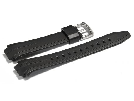 Watch strap Casio for MRP-700, rubber, black
