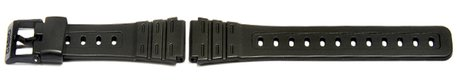 Watch strap Casio f. W-59-1VD, F-91W-1,rubber,black