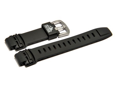 Genuine Casio Replacement Black Resin Watch Strap for PRW-2000A, PRG-200A, PRG-500, PRW-5000