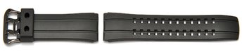 Watch strap Casio for EQW-570-1A, rubber, black