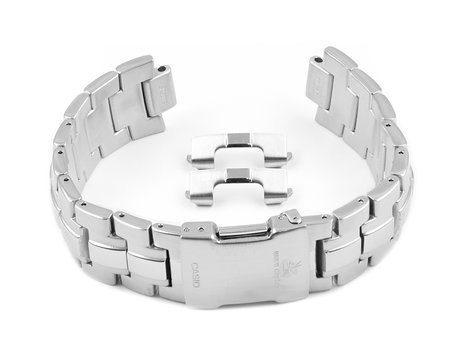 Watch strap bracelet Casio for WVQ-570DBE-1A, WVQ-570DE-1AVER, stainless steel