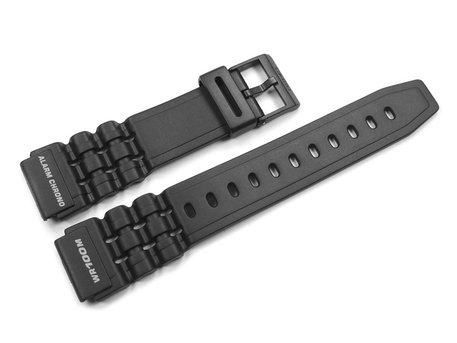 Watch strap Casio for W-727H-1A2VH, rubber, black