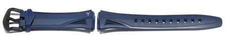 Watch strap Casio for STR-300 rubber, dark blue