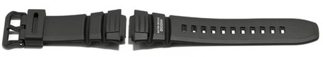 Casio Watch strap for WV-200, AE-2000W, rubber, black
