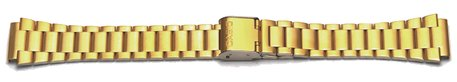 Casio Watch Strap Bracelet gold for DB-360G, stainless steel, gold