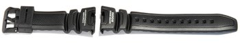 Watch strap Casio for SGW-100, rubber, black