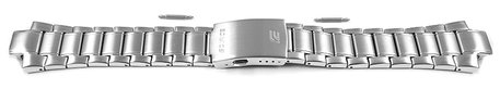 Watch strap Casio for EFA-129D-1AV, stainless steel