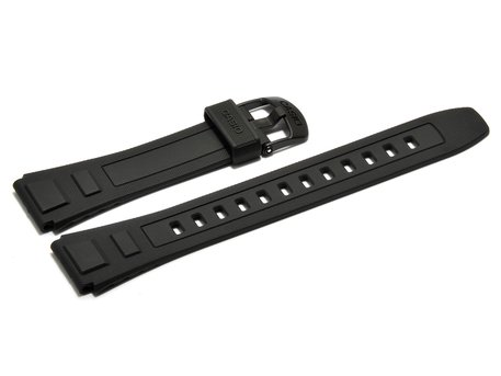 Black Resin Watch Strap Casio WV-59U, WV-59A, WV-59E, WV-59J