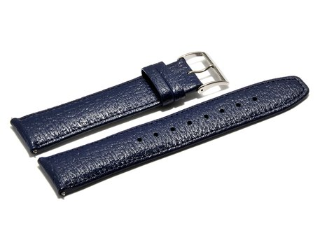 Casio Watch strap for WVQ-560LE-8AV, Leather, blue