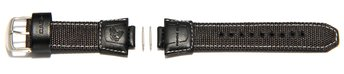 Watch strap Casio for AMW-700B,AMW-700,Textile/Leather,black