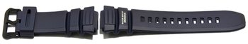 Casio Watch strap for WV-200, AE-2000W, rubber, dark blue