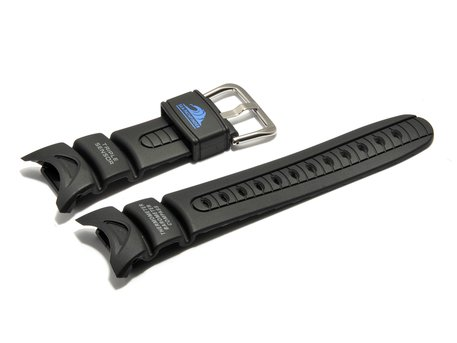 Genuine Casio Replacement Black Rubber Watch Strap for SPF-40