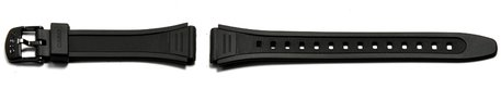 Casio Watch strap for W-201, W-201G, rubber, black
