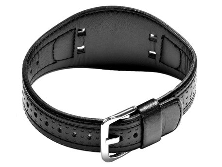 Genuine Casio Replacement Black Leather Watch Strap for G-350L-4AV, G-300L-2AV, G-350L, G-300L