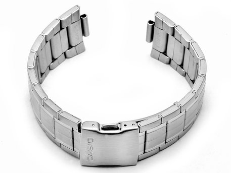 Watch strap bracelet Casio for EFA-119D-1A4V, stainless steel