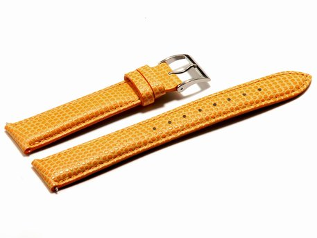 Watch strap Casio for LWQ-140LE-4A2, Leather, apricot