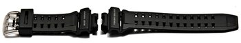 Watch strap Casio for GW-9110, rubber, black
