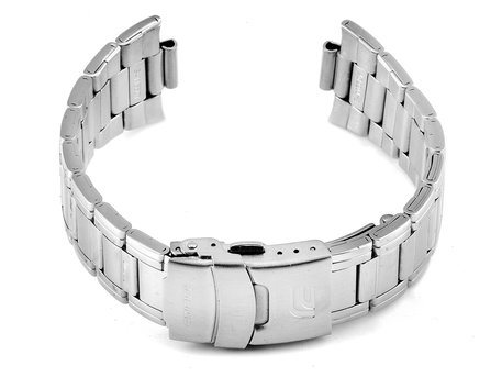 Watch strap bracelet Casio for EFA-122D-1AVEF, stainless steel