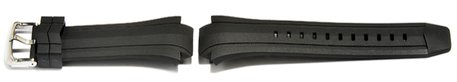 Genuine Casio Watch strap f. EF-514-1, rubber,black