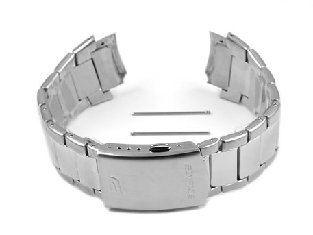 Watch Strap Bracelet Casio for EFA-128D, stainless steel