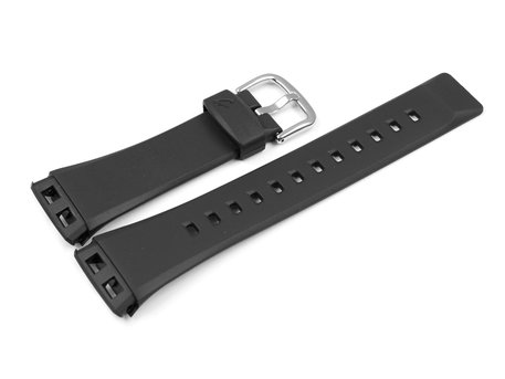 Watch strap Casio for Baby-G BG-180, rubber, black