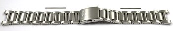 Watch Strap Bracelet Casio for BEM-111D-1AV, stainless steel