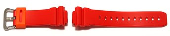 Casio Watch strap for DW-6900CB-4, rubber, red
