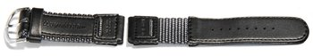 Watch strap Casio for W-94HF-8AVH, Textile/Leather,...