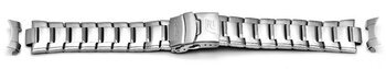 Watch strap bracelet Casio for EFA-121D-1AV, stainless steel