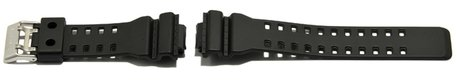 Genuine Casio Black Resin Replacement Watch Strap for GA-100, GA-110