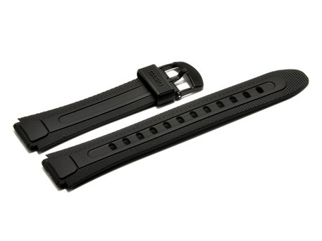 Genuine Casio Black Resin Strap for AW-81