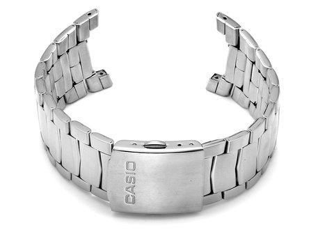 Watch Strap Bracelet Casio for EFA-112D, stainless steel