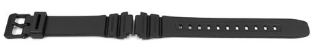 Black Resin Watch Strap Casio for F-108WH-1, F-108WH-1-1A