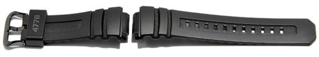 Replacement Strap Casio for AW-591ML-1AER, rubber, black
