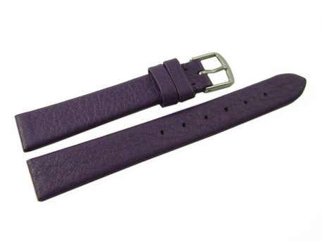 Watch strap - genuine leather - Business - purple