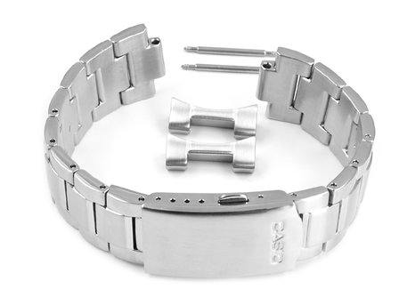 Watch Strap Bracelet Casio for EF-503D-1AV, stainless steel