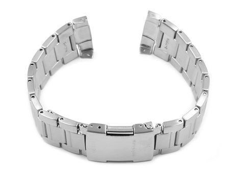 Watch Strap Bracelet Casio for WV-M120DE, stainless steel