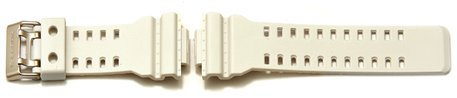 Genuine Casio Replacement White Resin Watch Strap for GA-110C, GA-110C-7A