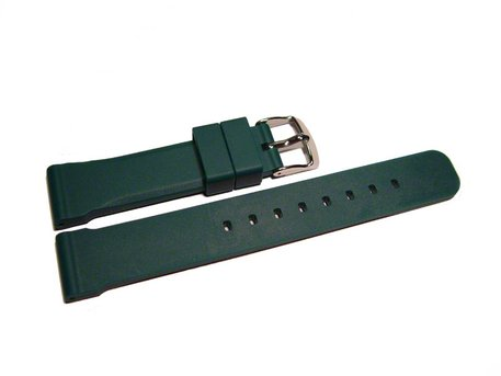 Watch strap - extra strong - Silicone - green