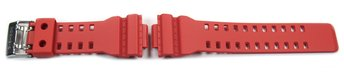 Genuine Casio Replacement Red Resin Watch strap for...