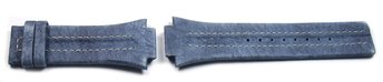 Festina Replacement Band for F16184 - Blue - White stitching