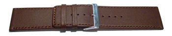 Watchb strap - genuine leather - brown - 30mm